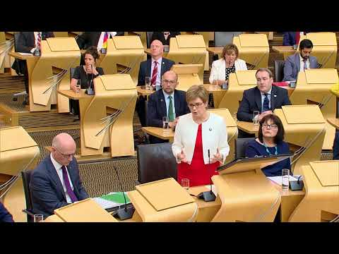 First Minister's Questions - 28 June 2018