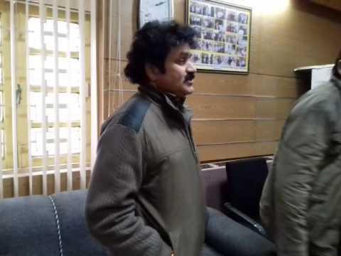 Radio kashmir srinagar personalities with Faheem Shalbaf