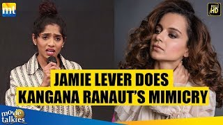 Johnny Lever's Daughter Jamie Lever Does Kangana Ranaut's Mimicry