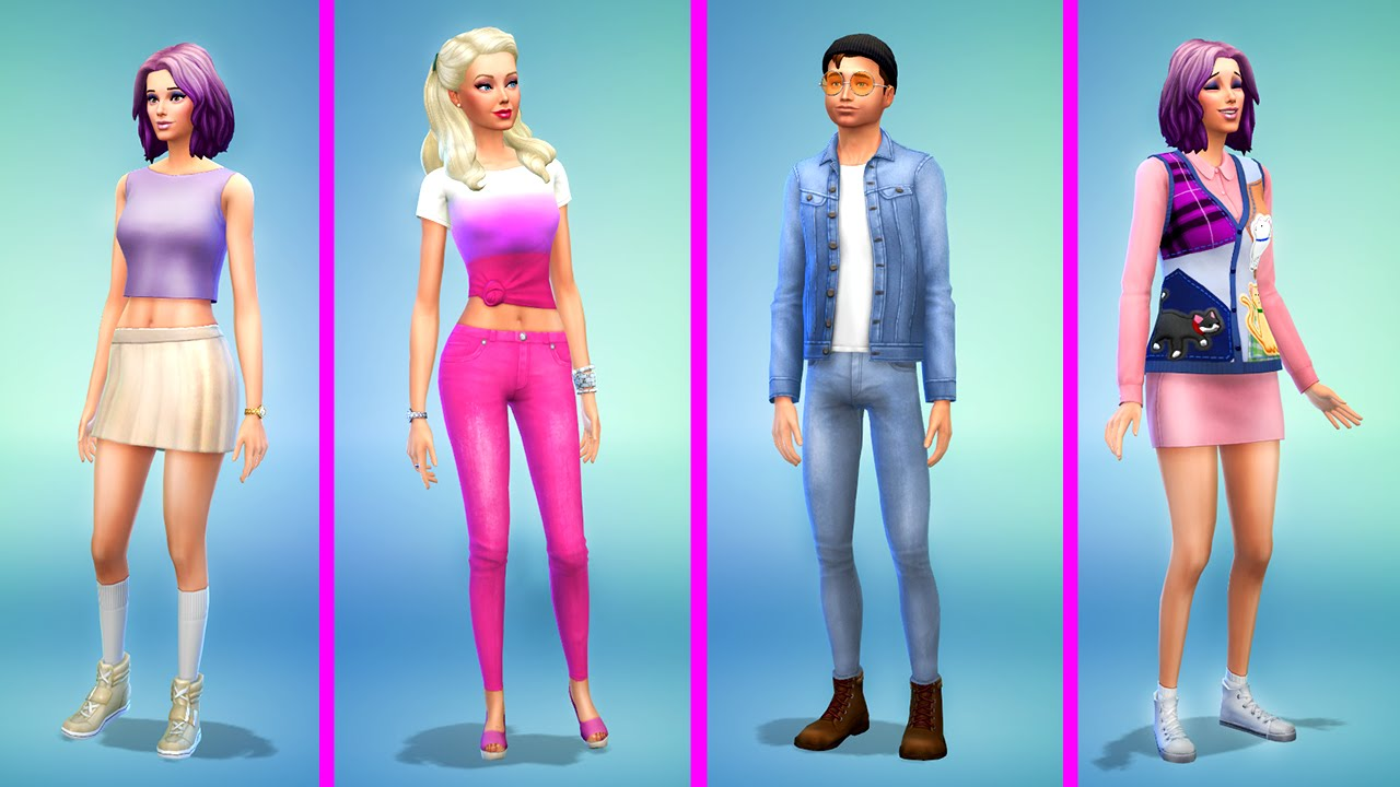 The Sims 4 Barbie  Family Makeover - Youtube-5847