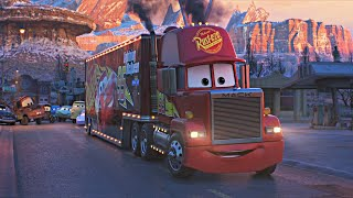 Cars 3 - Travel to Rust-Eze Racing Center (Movie Clip)