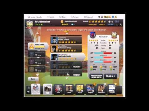 Completing EA FIFA Superstars Game On Facebook 2010