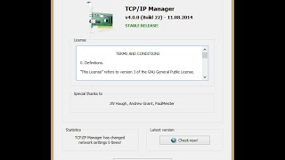 TCP/IP Manager feature showcase