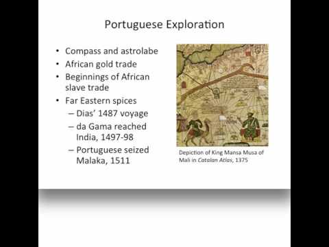 History 1112 Lecture 1 Age Of Exploration