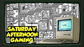 SimCity Classic (Mac) - A Grade School Computer Lab Classic! - Saturday Afternoon Gaming