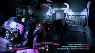 Mass Effect 3 Multiplayer - Firebase Glacier vs Geth