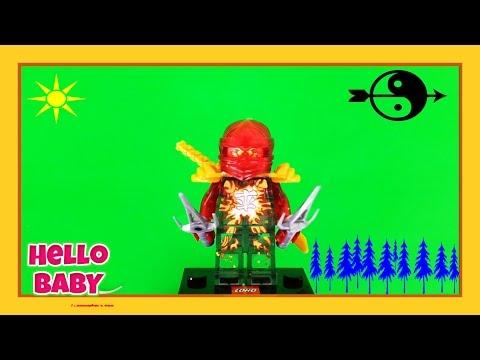 LEGO-Ninjago-Lắp Ghép (Tập 4)| MASTERS OF SPINJITZU-Lego Speed Build| Hello BABY!!!