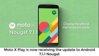 Como instalar Android 7.1 Oficial Moto X Play XT1563, XT1562 pelo RSD , não precisa root