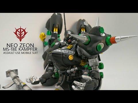 Yod Gunpla Builder EP.27 รีวิวกันพลา+ทำสี [MG][GoGo]Kampfer 1/100