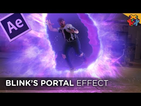 BLINK PORTAL Tutorial In Adobe After Effects!