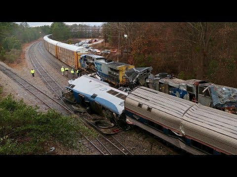 3rd Deadly TRAIN CRASH in the USA in Wks 2.4.18