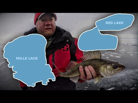 Red Lake Vs. Mille Lacs (for FIRST ICE)