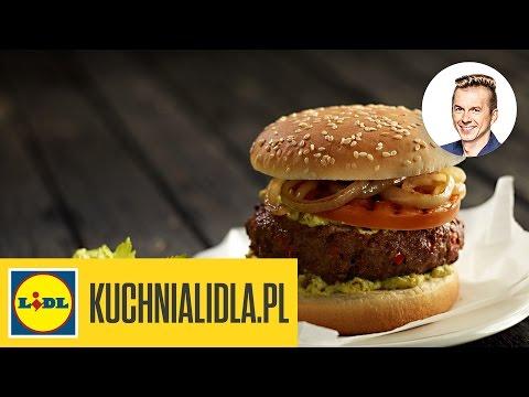 Najlepszy Hamburger Z Grillowanym Pomidorem I Cebulą Karol Okrasa Przepisy Kuchni Lidla