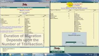 Tally 7.2 to Tally ERP 9 Migration