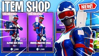 SKI SKINS ARE BACK! Fortnite Item Shop! Daily & Featured Items! (Feb 19th/Feb 20th)