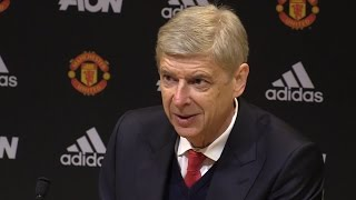 Manchester United 1-1 Arsenal - Arsene Wenger Full Post Match Press Conference