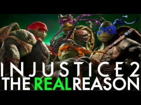 Injustice 2 - The REAL Reason TMNT Are In Fighter Pack 3!