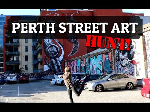Perth Street Art Hunt! | Nicola Milan