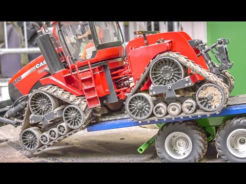 awesome-scale-mix!-rc-trucks!-crane!-tractors!-farming-machines!