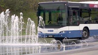 TCS-Fahrtraining mit Bussen