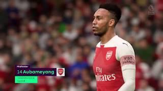 Arsenal vs Watford : Premier League Match 29 September 2018 - FIFA 19