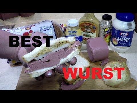 A Classic Liverwurst + Onion Sandwich