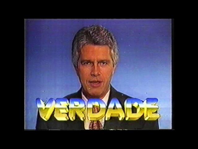Manchete Verdade - Chamada de estreia - 1996