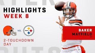 Baker Mayfield Highlights vs. Steelers