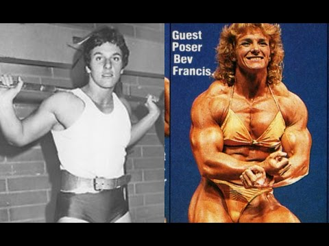A pioneer of female bodybuilding