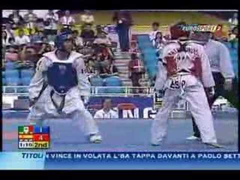 guillermo perez MEXICO VS antonio ramoz ESPAÑA taekwondo 07