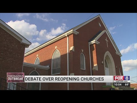 NC Churches Sue Gov. Roy Cooper Over Coronavirus Restrictions On Church Services