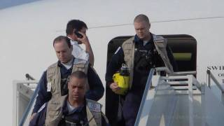 Japan Earthquake - Search and Rescue teams arrive - Misawa Air…