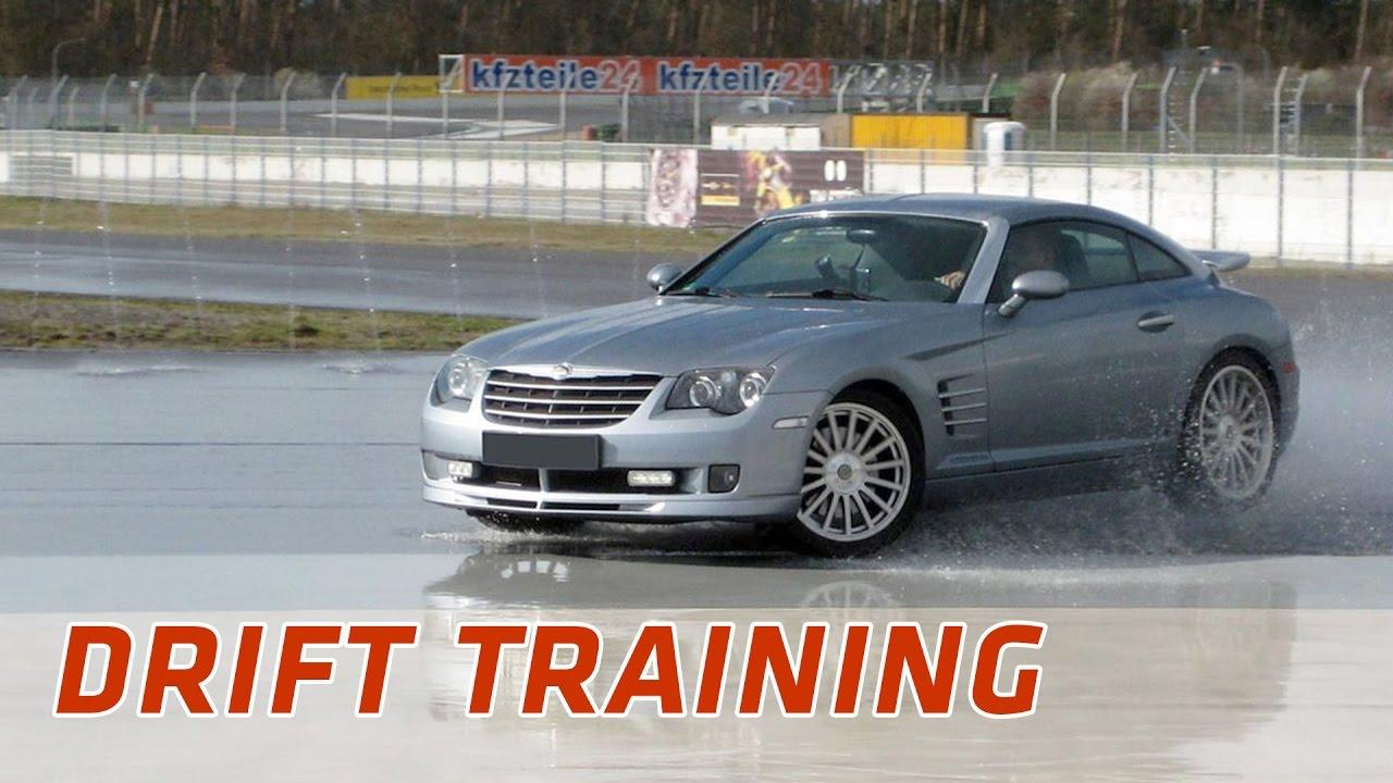 Chrysler Crossfire Drift Training Hockenheimring 2012 Hd Youtube
