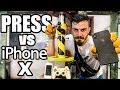 HİDROLİK PRESLE iPhone X EZMEK!! - YouTube