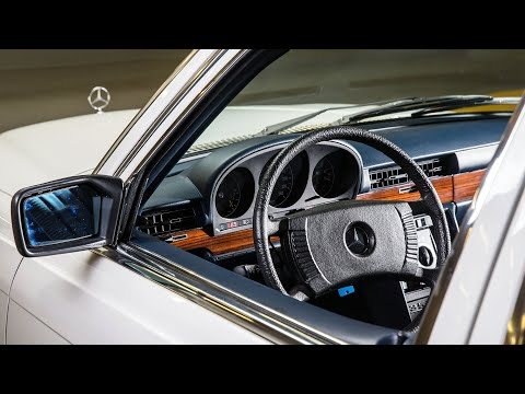 1977 Mercedes-Benz 350 SEL W116 With The M116 Engine