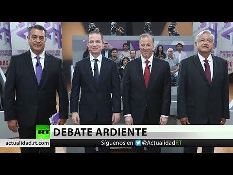 La 'amenaza' Trump acapara segundo debate presidencial en México