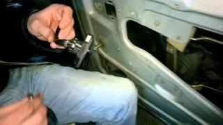 Как заменить внутреннюю ручку двери ваз 2115 подробная инструкция