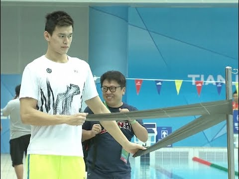 Olympic Champion Swimmer Sun Yang Gears up for Chinese National Games