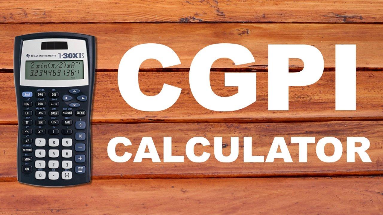 CGPI Calculator - Engineering Buddy Mumbai University