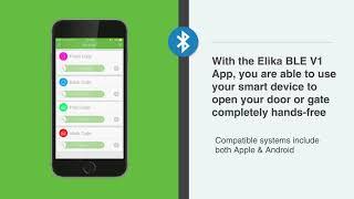 Elika 460 Bluetooth Moblie App