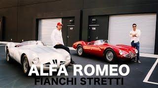 The rare alfa romeo 1900 disco volante fianchi stretti