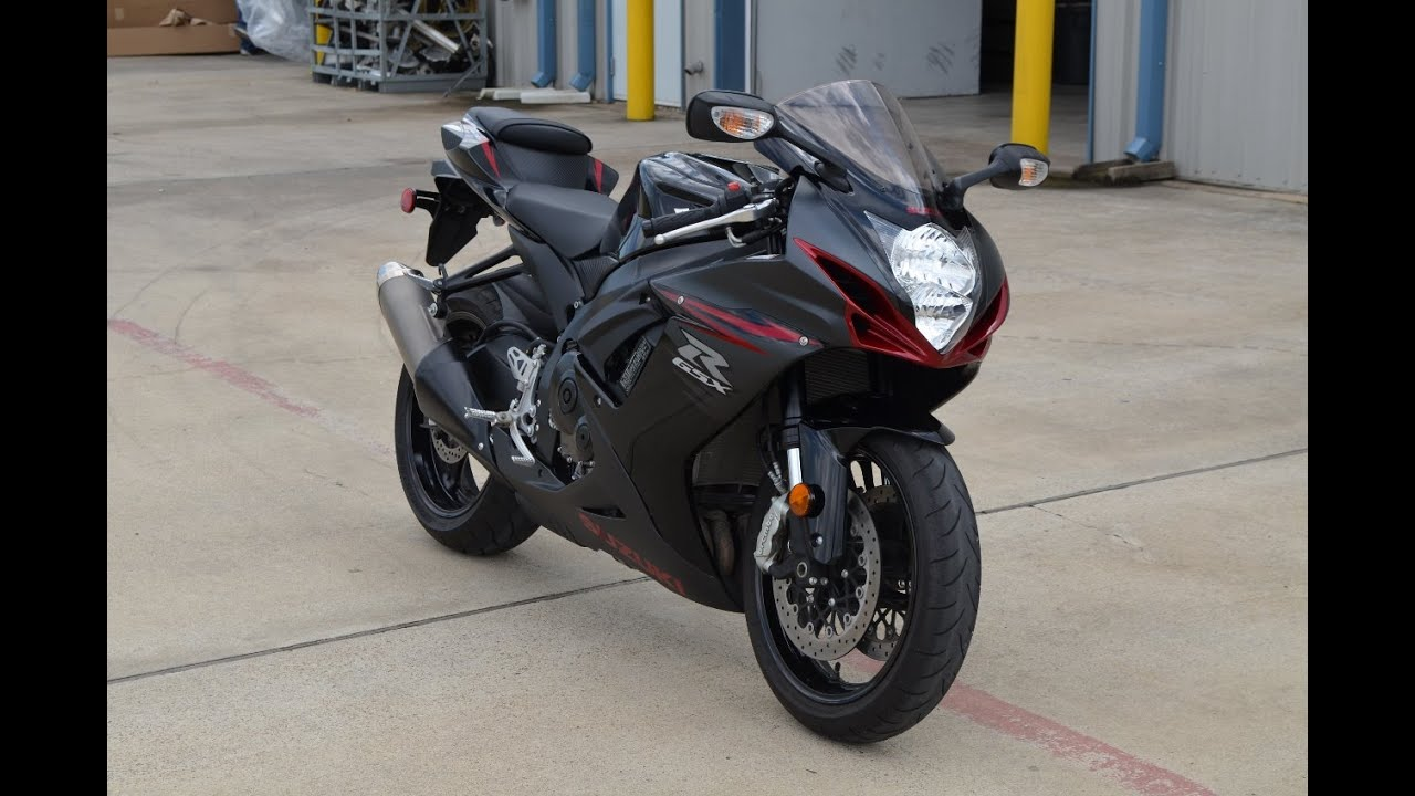 2012 Suzuki GSXR 600 in Black SOLD - YouTube