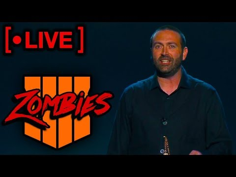 LIVE!! BO4 ZOMBIES PRESENTATION W/JASON BLUNDELL