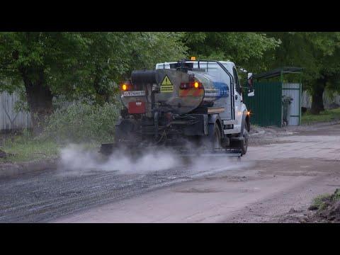 Наталия Макаревич проверила ход ремонта дорог в Тамбове