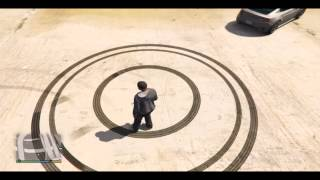 How to draw a perfect circle in GTA V (PS4)