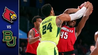 Louisville vs. Baylor Men's Basketball Highlights (2016-17)