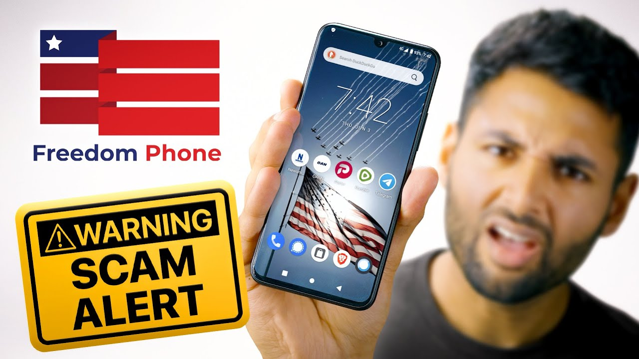 Do NOT buy the Freedom Phone!! 🤬