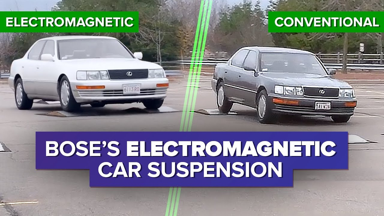 Watch Bose S Incredible Electromagnetic Car Suspension System In