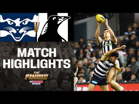 Pendlebury's 300th | Geelong V Collingwood Highlights | Qualifying Final | AFL