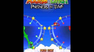 Mario & Luigi: Partners in Time - Mario  and  Luigi: Partners in Time (DS)-Tittle Theme - User video